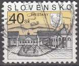 miniature Slovensko 2001 Michel 395 O Cote (2009) 1.50 Euro Centre thermal de Piešt'any Cachet rond