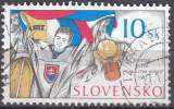 miniature Slovensko 2002 Michel 432 O Cote (2009) 0.60 Euro Hockey sur glace Cachet rond