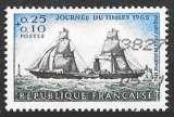 miniature France 1965 - Y&T 1446 (o) - Journée du timbre