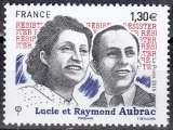 miniature France 2018 Lucie et Raymond Aubrac Neuf **