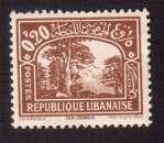 miniature Grand Liban 1930-35 Y&T 129 ** légende