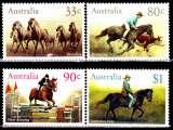 miniature Australie 944 / 47 Chevaux et cavaliers