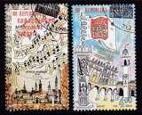 miniature PAIRE OBLITEREE DE CROATIE - EUROPA 1998 : FETES ET FESTIVALS NATIONAUX N° Y&T 423/424