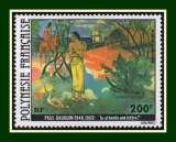 miniature Polynésie N° PA 144 ** Gauguin (cote 17,60 €)