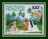 miniature Polynésie N° PA 176 ** Brasiliana 1983 (cote 3,00 €) Exposition Philatélique internationale