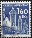 miniature Tchécoslovaquie 1960 - Château de Kolorin ( Mi 1192 - YT 1075 )