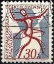 miniature Tchécoslovaquie 1965 - Championnats du Monde de gymnastique ( Mi 1503 - YT 1369 )