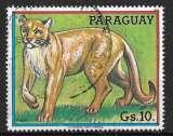 miniature Paraguay 1984 - Y&T 2070 (o) - Puma
