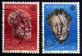 miniature SUISSE 1985 Y&T 1223-1224 EUROPA (o)