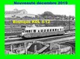 AL - Lot de 30 cartes postales modernes ferroviaires - Région Centre - Série 12/2019