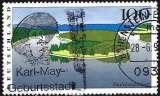 miniature Allemagne RFA 1996 - Les rives de la Saale ( Mi 1850 - YT 1684 )
