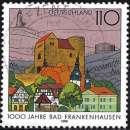 miniature Allemagne RFA 1998 - Château de Bad Fankenhausen ( Mi 1978 - YT 1810 )