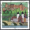 miniature Allemagne RFA 1996 - Pont Karl-Theodor, Heidelberg ( Mi 1868 - YT 1700 )