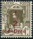 miniature Algérie 1926 - Rue de Kasbah - Timbre surchargé( Mi 34 - YT 57 ) MNH**