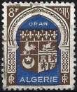 miniature Algérie 1948 - Armoiries de Oran ( Mi 274 - YT 269 )