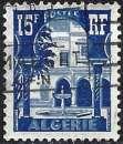 miniature Algérie 1955 - Patio du Musée du Bardo ( Mi 328 - YT 314 )