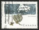 miniature Canada - 1990 - Y&T n° 1153 - Obli. - Forêts acadienne - Forêts canadiennes