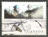 miniature Canada - 1990 - Y&T n° 1154 - Obli. - Forêt des Grands Lacs et du Saint-Laurent - Forêts canadiennes