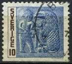 miniature SUEDE 1967 OBLITERE N° 563