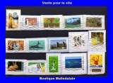 miniature FRANCE - Oblitéré sur fragment - Lot de 15 timbres - TCA 010