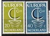 miniature Pays-Bas 1966  Y&T  837-838  N**   Europa