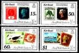 miniature Kiribati 213 / 16 150e anniversaire de la création du premier timbre / London 90