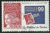 miniature France 1997 - Philex France - 3127 oblitéré .