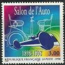 miniature France 1998 - Salon de l'auto - 3186 oblitéré .