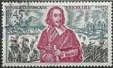 miniature France 1970 - Richelieu - 1655 oblitéré .