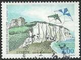miniature France 1999 - Dieppe - 3239 oblitéré .