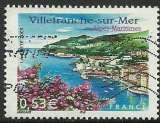 miniature France 2005 - Villefranche sur Mer - 3802 oblitéré .