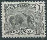 miniature Guyane - Y&T 0049 (**)