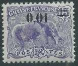 miniature Guyane - Y&T 0091 (**)
