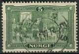 NORVEGE 1914 OBLITERE N° 88