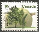 miniature Canada - 1991 - Y&T n° 1226 - Obli. - Noyer noir - Arbres fruitiers