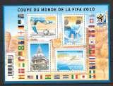 Année 2010 : Bloc feuillet F 4481 ** Coupe du Monde de Football 2010