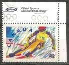 miniature Canada - 1992 - Y&T n° 1233 - Obli. - Ski alpin - Jeux Olympiques d'hiver 1992 - Alberville