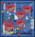 Année 2010 : BF N° 129 ** Coeurs 2010 de chez Lanvin