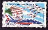 miniature France2008:PA 71 alphajets Patrouille de France   oblitéré