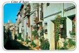 miniature ANTIBES : Rue dans la vieille ville