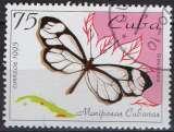 miniature Faune insectes - Papillons - Greta cubana