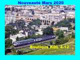 RU 1804 - Train - Autorail X 2800 - AURILLAC - Cantal - SNCF