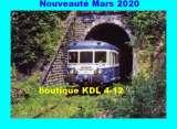RU 1829 - Autorail X 2893 - Tunnel de Parensol - BASSIGNAC - Cantal - SNCF