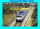 RU 1833 - Autorail X 2844 vers MAURIAC - Cantal - SNCF