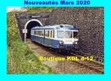 RU 1835 - Autorail X 2853 - Tunnel du Peuch - SALINS - Cantal - SNCF