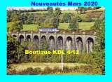 RU 1836 - Autorail X 2800 - Viaduc de la Cascade de SALINS - Cantal - SNCF