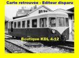 miniature BVA 655-03 - Remorque d'autorail Verney XR 701 - TULLE - Corrèze - POC