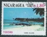 miniature Nicaragua - Y&T 1211 (o) - Tourisme -