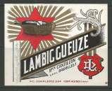 Etiquette de Bière - Belgique - Lambic Gueuze - 40 / 80 cl - Brie Cantillon - Neuve