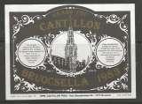 Etiquette de Bière - Belgique - Grand Cru Cantillon Bruocella 1983 - Brie Cantillon - Neuve